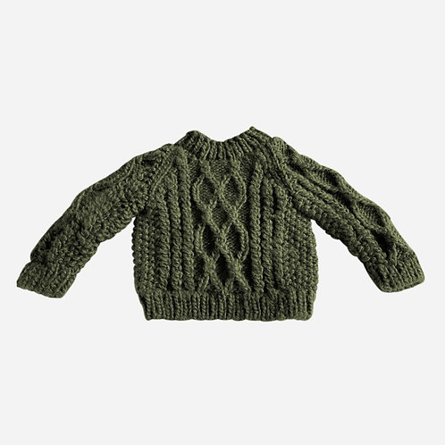 Fisherman Sweater - Rifle Green