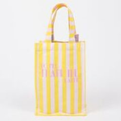 Yellow and Pink Double Wine Bag