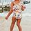 Thumbnail: Tropical Flamingo One Shoulder Swimsuit