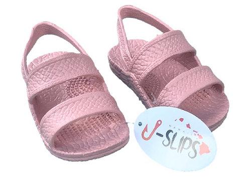 Pink J-Slip Sandals