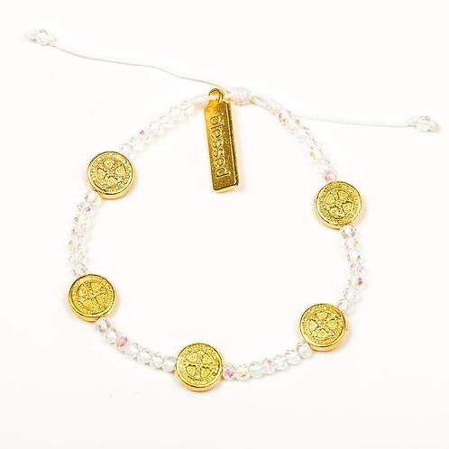 Crystal Gratitude Bracelet