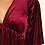 Thumbnail: Wine Velvet Dress