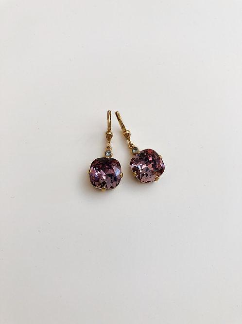 La Vie Crystal Drop  Crystal Earrings