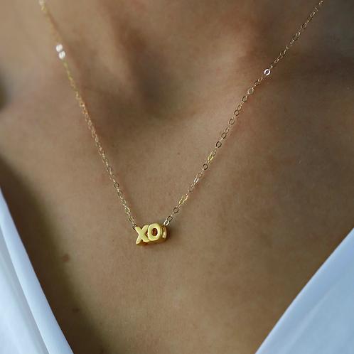 Floating XO Necklace