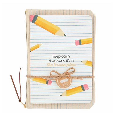 Keep Calm Teacher Notebook