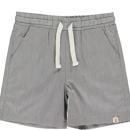 Gray swim shorts