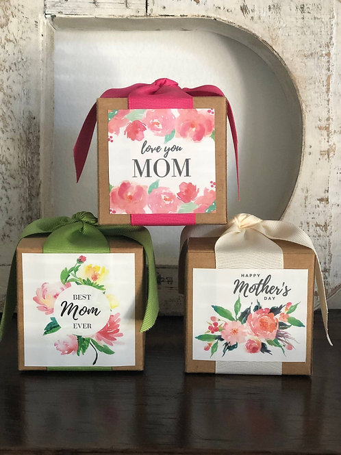 B. toffee  Milk chocolate Mothers day boxes
