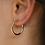 Thumbnail: Small Hoop Earrings
