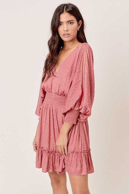 Star Split Sleeve Dress