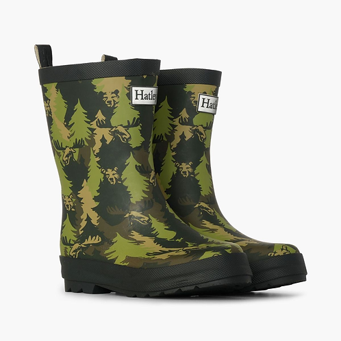 Camo Matte Rain Boots