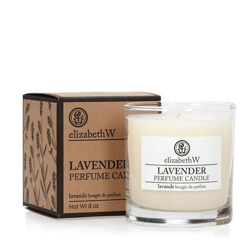 ElizabethW Lavender Perfume Candle