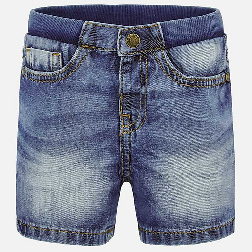 Denim shorts for baby boy