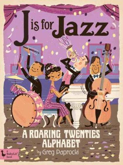 Jazz Alphabet Hard Cover Book