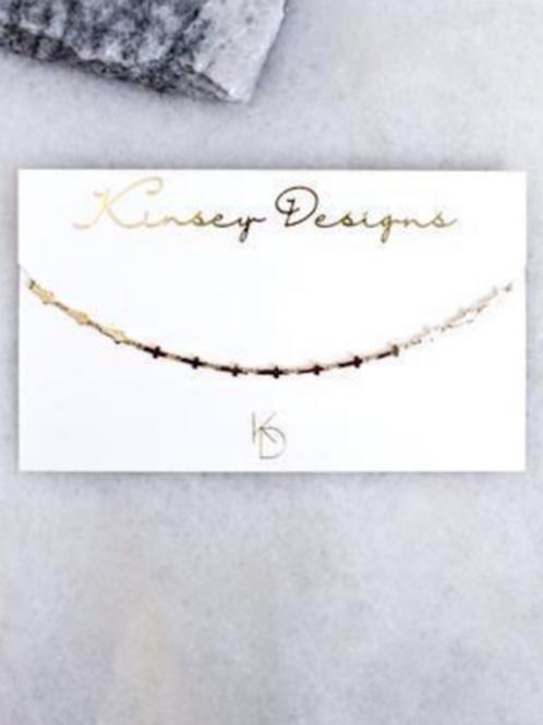 Kinsey Designs Trinity Choker Necklace