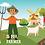 Thumbnail: Farm Alphabet Book