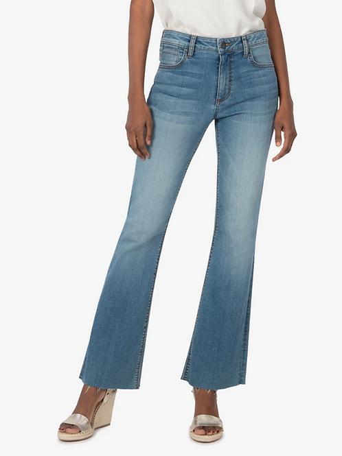 KUT Stella High Rise Flare Jeans