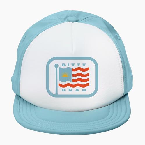 Bitty Brah American Flag Hat