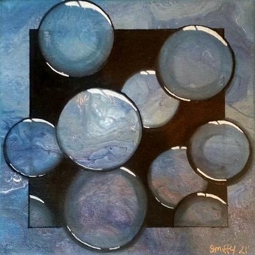 Bubbles on Canvas
