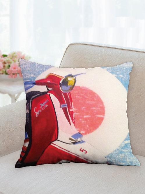 Vespa Cushion Cover