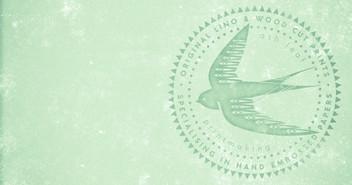 lino and wood cut logo