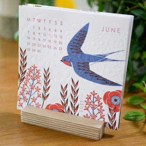 2021 Bird Desk Calendar