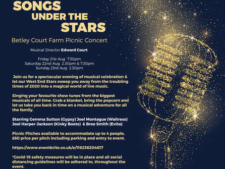 Songs under the Stars- at Betley Court Farm