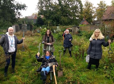 Community Health Garden gets Boost!
