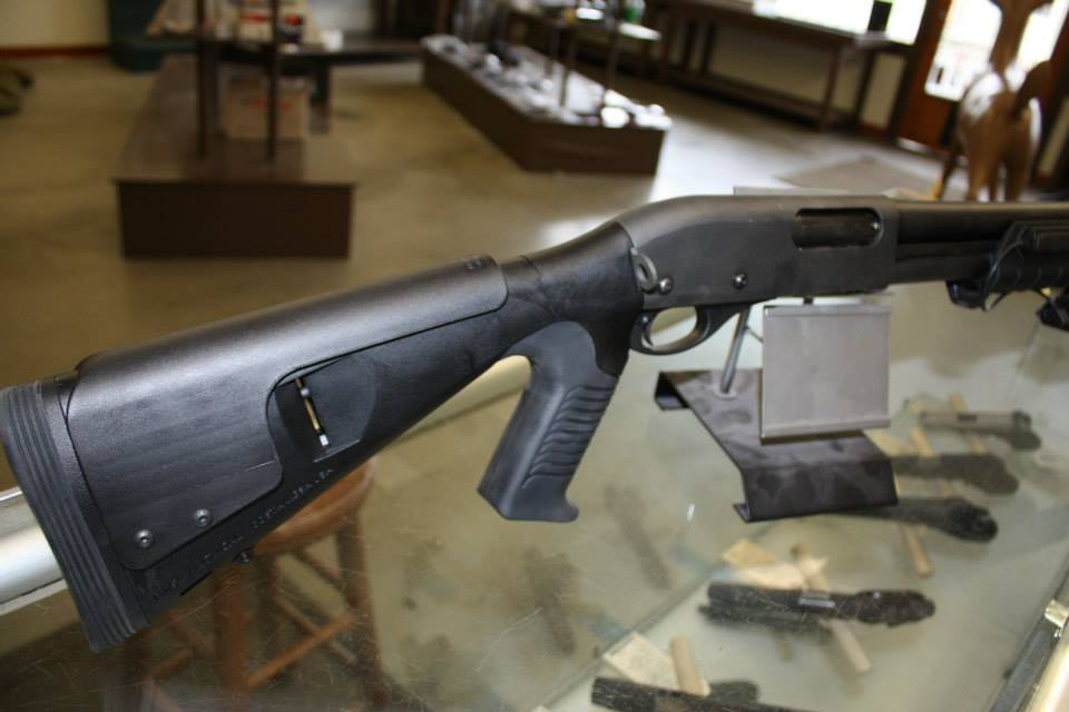 Unfired Remington 870