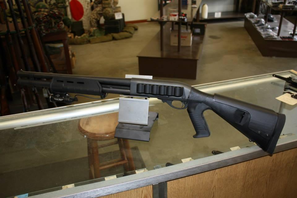 Unfired Remington 870 Home Defense
