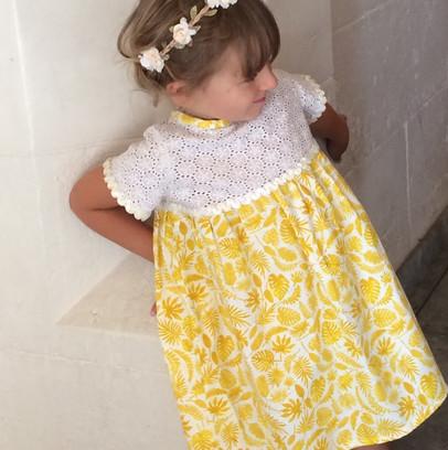 Robe de baptême pour fille sur mesure