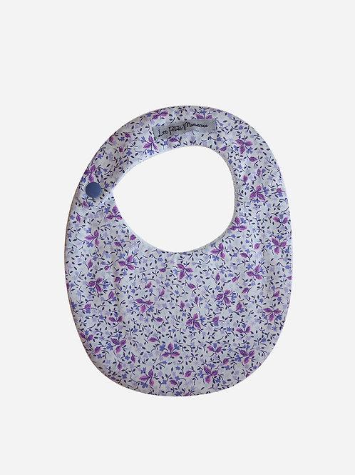 Bavoir - Feuillage violet
