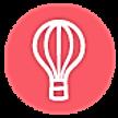Hot Air Balloon - Pink