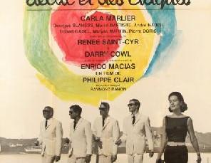Enrico Macias dans le film « Déclic et des claques » de Philippe Clair (1964)
