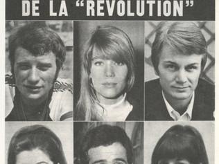 Les « idoles de la chanson » et la «révolution » de Mai 68