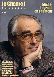 Je chante magazine n° 16 (Michel Legrand)