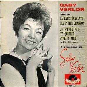 Gaby Verlor, c'était bien...