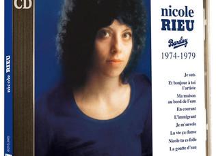 L'intégrale Barclay de Nicole Rieu, la « voix céleste » des années 70