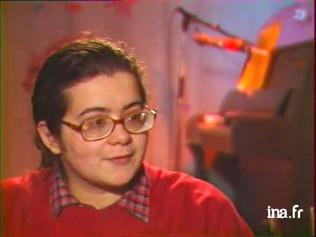 Juliette, sa première télévision en 1986