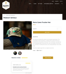 Pappy & Company Website