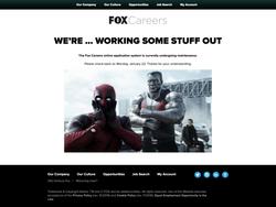 Fox Careers Website