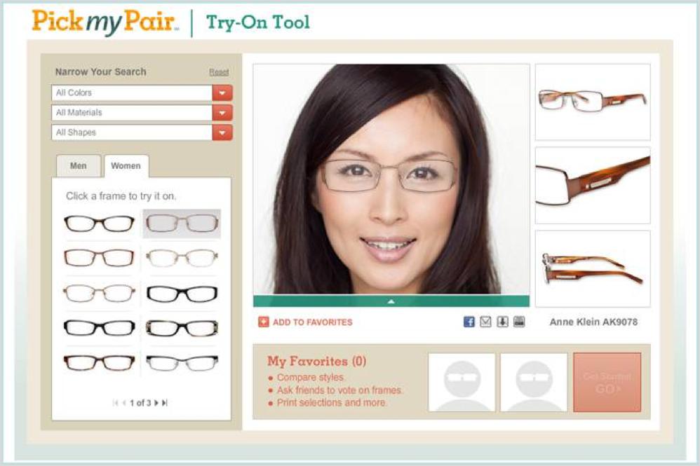 Pearle Vision Pick My Pair