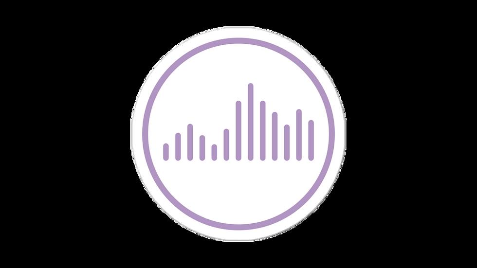 Vibe Sticker Lilac