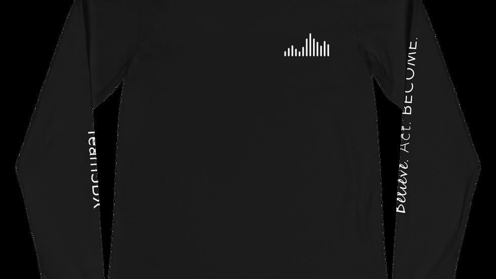 Team Long Sleeve (white font)