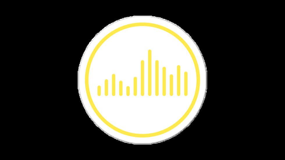 Vibe Sticker Yellow