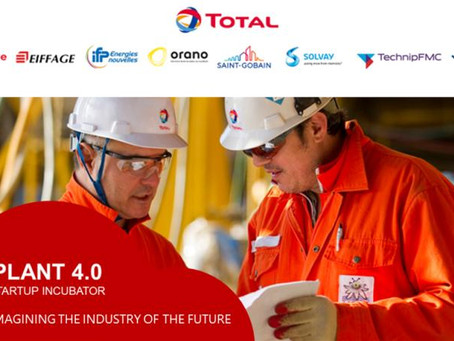 Total names groundbreaking digital Plant 4.0 start-ups