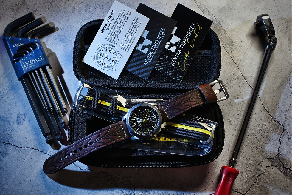 Traditional Carbon Chocolate strap Kit P