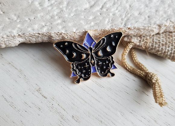 Mystic Moth Pin