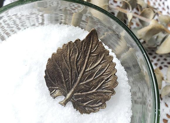 Bronze Leaf Ring