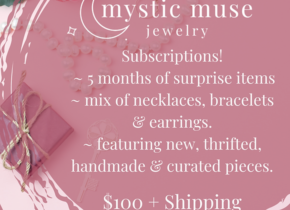 5 Month Jewelry Subscription