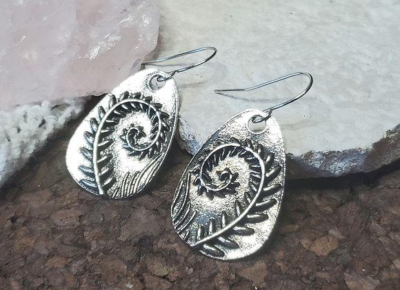 Fern Dangle Earrings